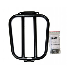 Luggage rack for 2/3 Seat oval, black