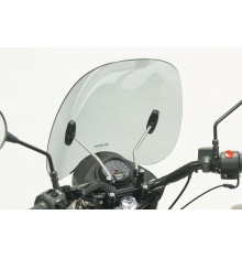 Drivers windshield URAL, smoke grey