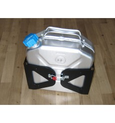 Jerry can Aluminium with holder