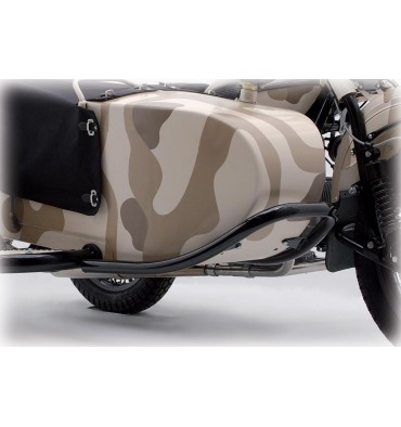Protective bow sidecar front, heavy version, black