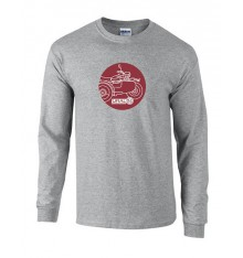 Long Sleeve T-Shirt Ural Aside grey