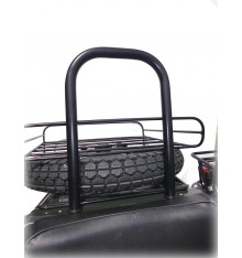 Roll-over bar for sidecar, black