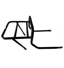 Luggage rack behind co-pilot seat, black