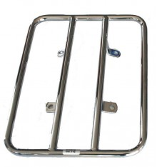 Luggage rack for rear fender, chrome