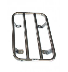 Luggage rack for sidecar fender, chrome