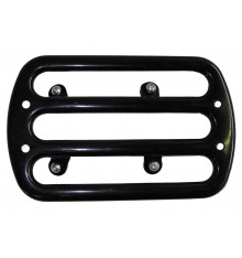 Luggage rack for rear fender, black