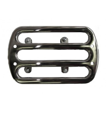 Luggage rack for rear fender, stainless