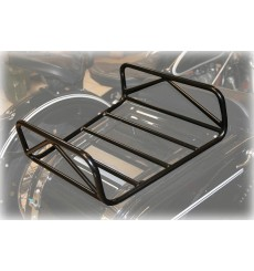 Luggage rack for sidecar trunk lid, black