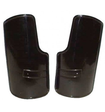 Set of leg mudguards with mounting (russian)