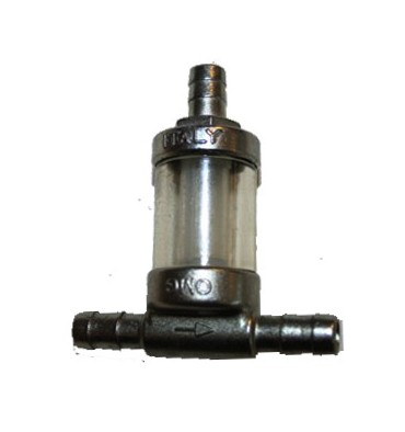 T-connector with fuel filter