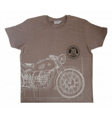 T-shirt olive green, M70 anniversary model