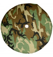 Cover for 19' spare wheel in Nato camouflage