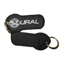 Key holder black with 'URAL' logo