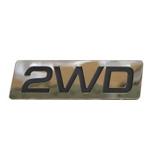 Sticker '2WD'