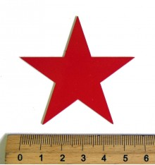 Red Star metal, small