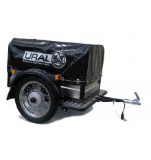 Big trailer cover with Ural logo black