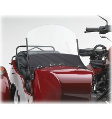 Sidecar windscreen assembly, black frame until 2012