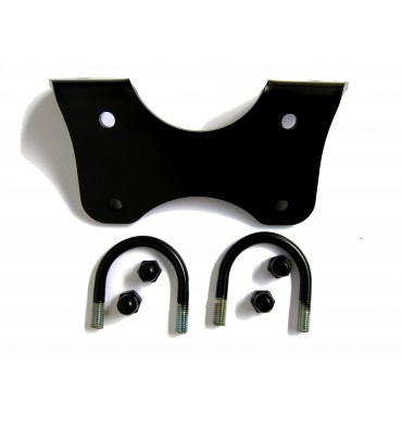Fog light mounting set