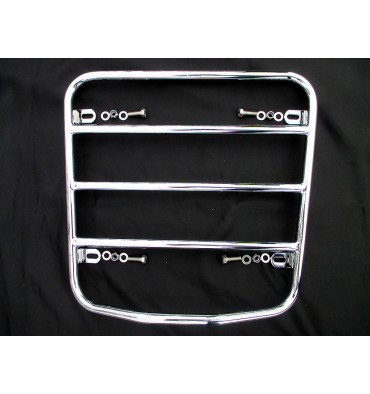 Luggage rack for trunk lid, chrome