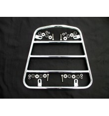 Luggage rack for sidecar nose, chrome