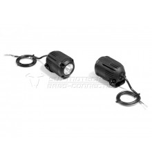 Fog light H3 black