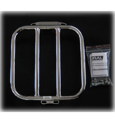 Luggage rack for 2/3 Seat, chrome