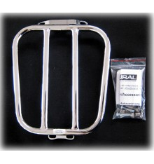 Luggage rack for 2/3 Seat oval, chrome